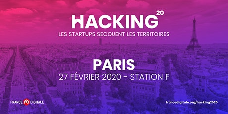 FDTour pour lever des fonds : Hacking 2020 - France Digitale à Paris ! billets