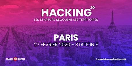 FDTour pour lever des fonds : Hacking 2020 - France Digitale à Paris ! tickets