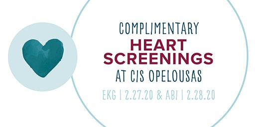 CIS Opelousas Free ABI Screening