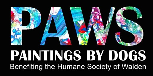 PAWS Paintings by Dogs - Humane Society of Walden