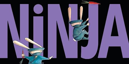 "Kids Club - Tues. Feb. 18th or Thurs. Feb. 20th  ""Ninja Bunnies!"""