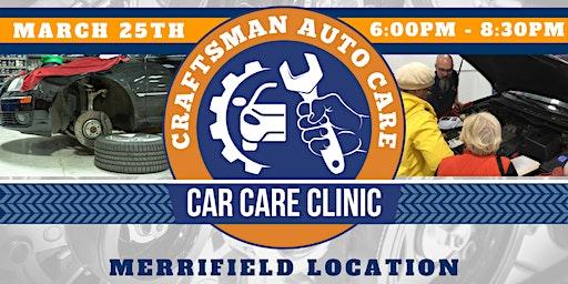 Car Care Clinic @ Craftsman Auto Care