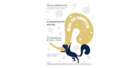 Creative Communicators - Toastmasters Club, Demonstration Meeting tickets