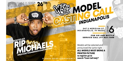 Wild N' Out Cast Call INDY