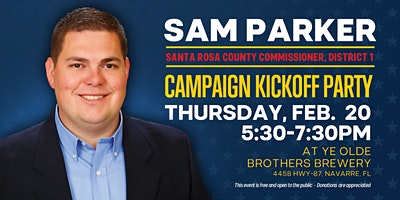 Sam Parker Campaign Kick-Off Party