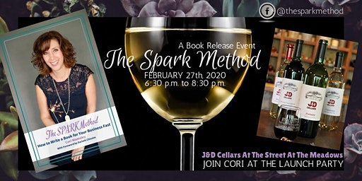 The Spark Method Launch Party at J & D Winery at the Meadows