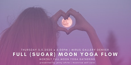 March Full (Worm) Moon Yoga Flow (All Levels) tickets