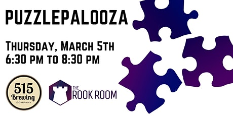 Puzzlepalooza Jigsaw Puzzle Competition tickets