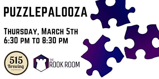 SOLD OUT - Puzzlepalooza Jigsaw Puzzle Competition