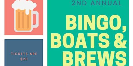 CANCELLED | Bingo, Boats & Brews tickets