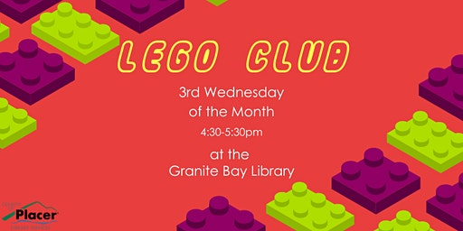 LEGO Club at Granite Bay Library