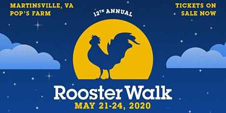 Rooster Walk 12 Music & Arts Festival tickets
