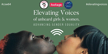 Elevating Voices of Unheard Girls and Women, Advancing Gender Equality tickets