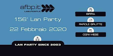 A.F.B.P. 156ma Lan - Febbraio 2020 biglietti