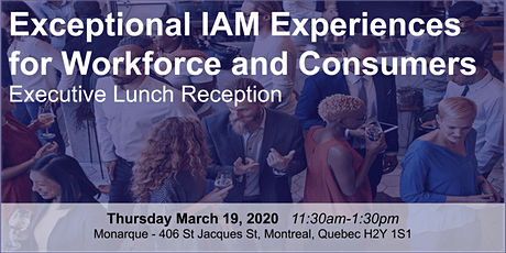 Exceptional IAM Experiences for Workforce and Consumers tickets