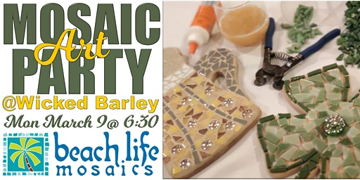 Mosaic Art Party @ Wicked Barley