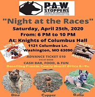 """FCSO P.A.W. Stoppers  """"A Night At The Races"""" Mouse Race & Silent Auction"""