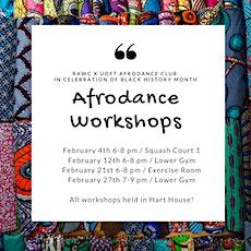 AfroDance Classes  tickets