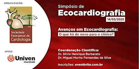 Simpósio de Ecocardiografia ingressos
