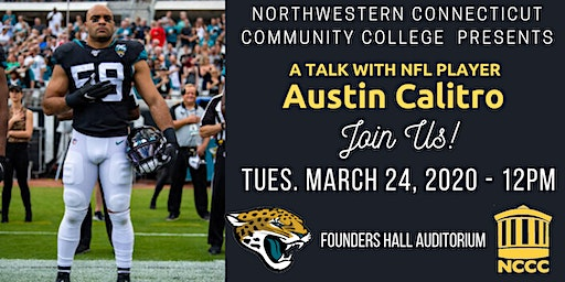 A Talk with NFL Player Austin Calitro - NCCC
