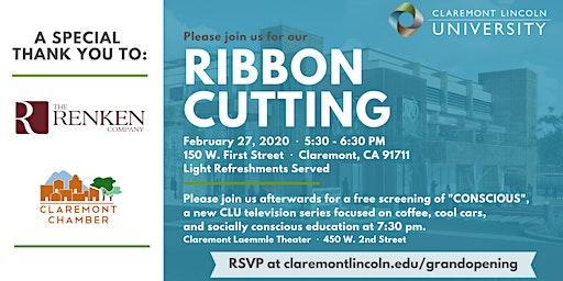 "CLU Ribbon Cutting Followed by a Screening of ""Conscious"""