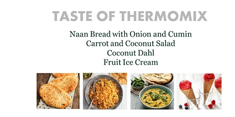 Taste of Thermomix, Free Cooking Experience, Reading tickets