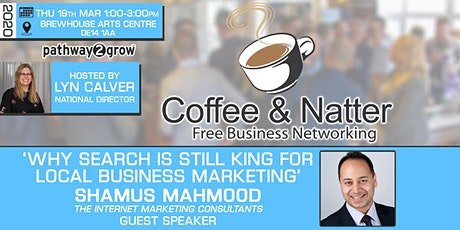 Burton Coffee & Natter - Free Business Networking Thur 19th March tickets