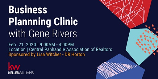 Business Planning Clinic with Gene Rivers