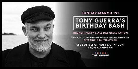 Tony Guerra's Birthday Bash tickets