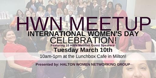 HALTON WOMEN NETWORKING MARCH 2020 MEETUP - INTERNATIONAL WOMEN'S DAY