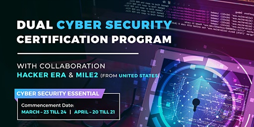 Cyber Security Essential - Dual Certification Programme