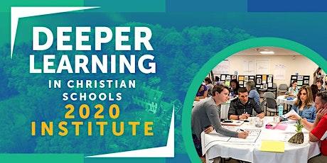 Deeper Learning Institute 2020 tickets