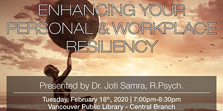 Psychology Month: Enhancing Your Personal & Workplace Resiliency tickets