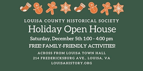 CANCELED-Holiday Open House tickets