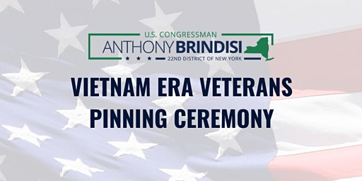 Vietnam Era Veterans Pinning Ceremony