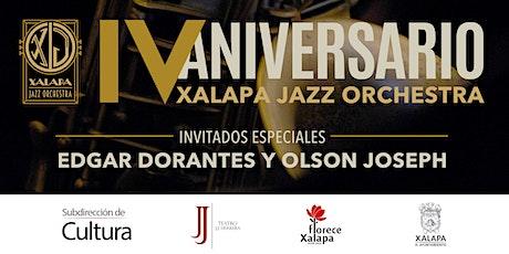 IV Aniversario | Xalapa Jazz Orchestra boletos