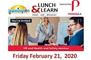 Lunch & Learn - Peninsula Group Ltd.