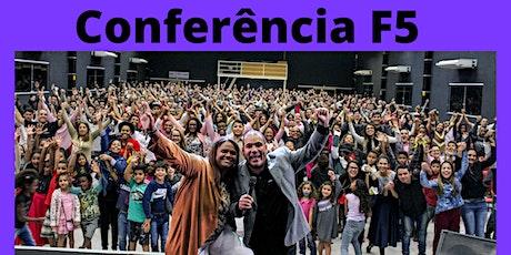 Conferência Célula e Discipulado F5 Upgrade ingressos
