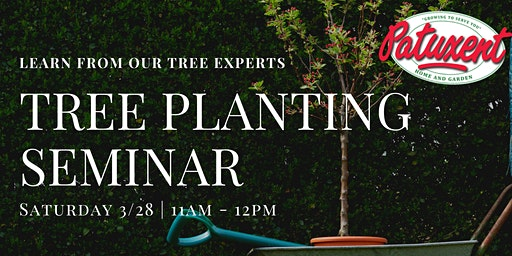 Tree Planting Seminar