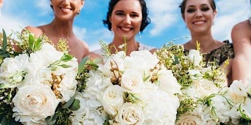 Peony and Hydrangea Hand Tied Bouquet Class