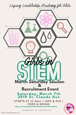 Legacy Leadership Academy for Girls Saturday Session & Recruitment Event tickets