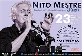 Nito Mestre en Valencia entradas