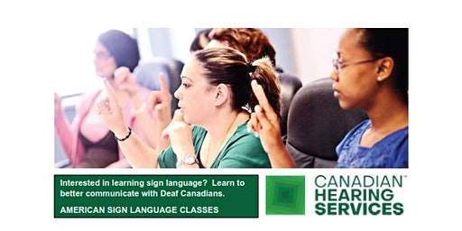 ASL 101 - CHS Belleville, Tuesdays, April 14 - June 16, 2020, 6 PM - 9 PM