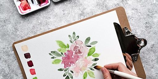 Floral Watercolor Illustration Workshop