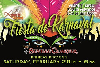 Fiesta de Karnaval tickets