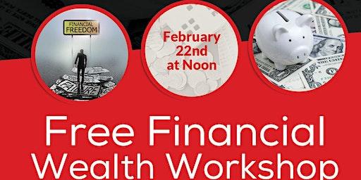 FREE Financial Wealth Workshop
