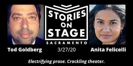 Stories on Stage Sacramento Performance: Tod Goldberg & Anita Felicelli