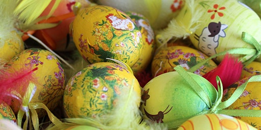 Easter Egg Decorating with Decoupage (Adults / Children)