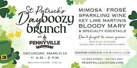 St. Patrick's Day Boozy Brunch at Pennyville Station! tickets