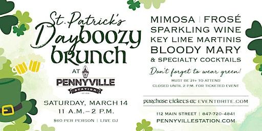 St. Patrick's Day Boozy Brunch at Pennyville Station!